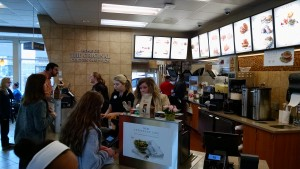 Becky Crissman/Cordele Dispatch Chick-fil-A staff handle a busy lunch hour. Employees greet every customer with a smile and friendly service