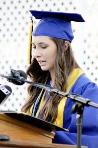 Crisp County High Salutatorian Kathryn Walker