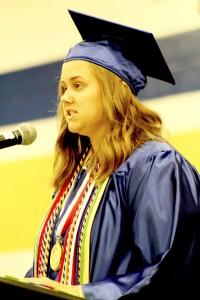 Wilcox County High Salutatorian Ana Claire Gordon.
