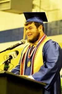 Wilcox County High Valedictorian Robert McGuinty.